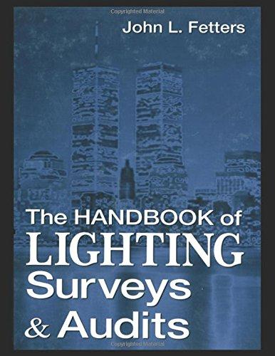 9780849399725: The Handbook of Lighting Surveys and Audits Handbook of Lighting Surveys and Audits