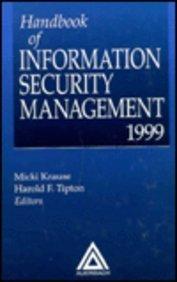 9780849399749: Handbook of Information Security Management, 1999 Edition