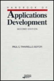 Handbook of Systems Development, 1999 edition: Paul C. Tinnirello, Paul Tinnirello