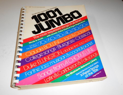 9780849400001: 1001 Jumbo Words and Music With Chords, Guitar Charts and Organ Registrations