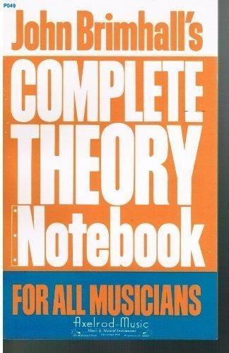 9780849400292: John Brimhall's 3-in-1 pocket theory notebook
