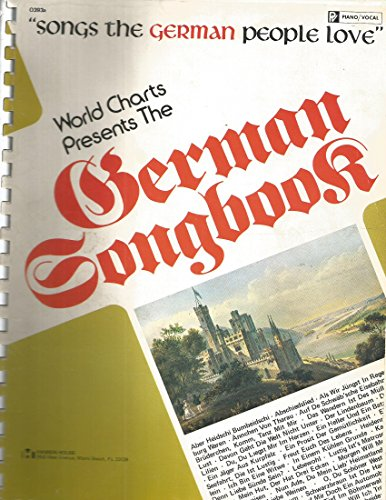 9780849400803: World Charts Presents the German Songbook