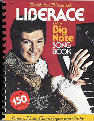 9780849400896: Liberace Deluxe Big Note Songbook