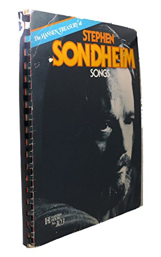 HANSEN TREASURY of STEPHEN SONDHEIM SONGS *: SONDHEIM, Stephen