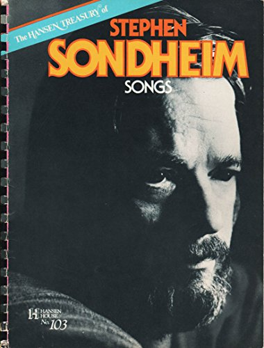 9780849400964: The Hansen Treasury of Stephen Sondheim Songs