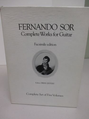 9780849401060: Fernando Sor: Complete Works for Guitar, Facsimile Edition, Volume V, Guitar Duets