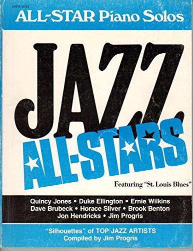 9780849416132: Jazz All-Star Piano Solos