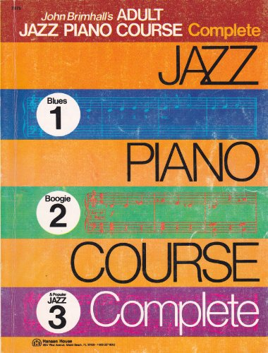 9780849430190: John Brimhalls' Adult Jazz Piano Course Complete