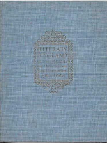 9780849549786: Literary England