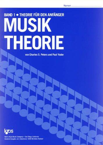 9780849704772: Musiktheorie. Bd.1