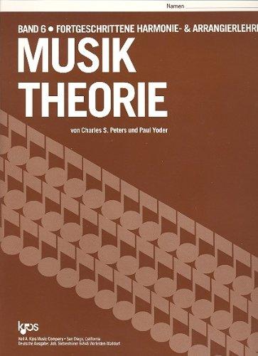 9780849704826: Siebenhüner Musik Theorie Band 6