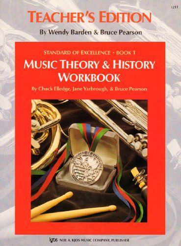9780849705182: L21T - Standard of Excellence Book 1 Theory & History Workbook Teacher's Edition