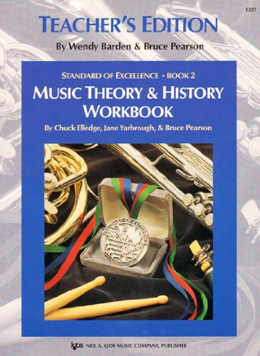 9780849705199: Music theory & history workbook (Standard of Excellence Book 2)