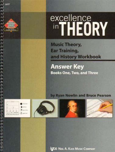 9780849705250: L61T - Excellence In Theory - Answer Key