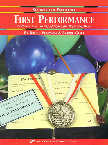 9780849706554: W26XE - First Performance - Standard of Excellence - 1st/2nd Alto Saxophone