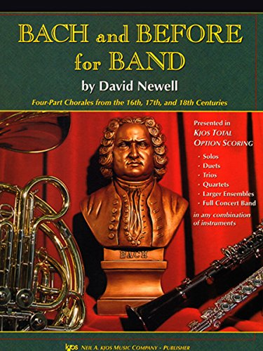 9780849706820: W34BC - Bach and Before for Band - Trombone/Baritone B.C./Bassoon