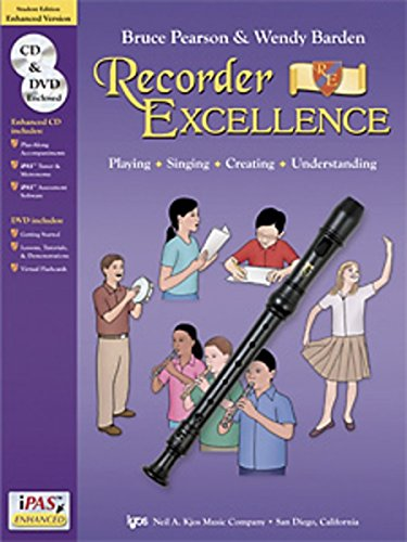 9780849706912: W52S - Recorder Excellence Enhanced Version Book/CD/DVD - Student Edition