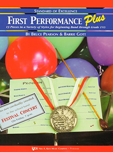 KJOS Standard Of Excellence First Performance Plus-PIANO ACCOMP: Bruce Pearson & Barrie Gott