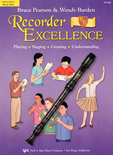 9780849707148: Recorder Excellence - Student Book (Book Only) (Student Edition)