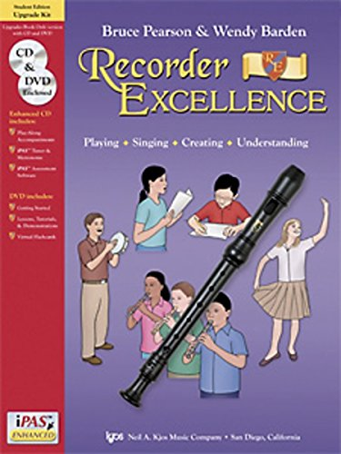 9780849707155: W52UK - Recorder Excellence Student Edition - Upgrade Kit (CD/DVD ONLY)