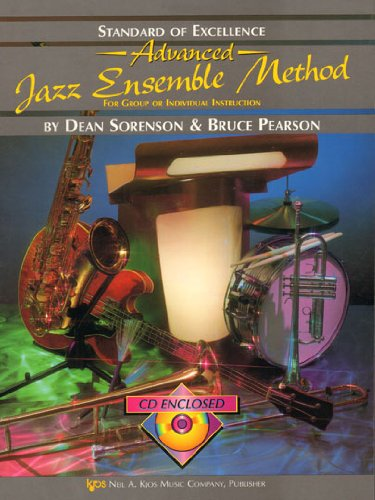 9780849725517: W35XE2 - Standard of Excellence Advanced Jazz Ensemble Method: 2nd Alto Saxophone