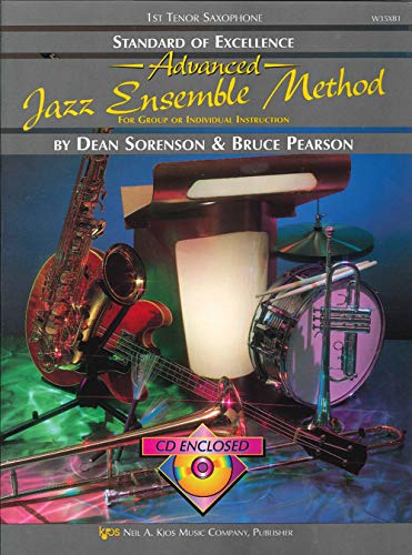 9780849725524: W35XB1 - Standard of Excellence Advanced Jazz Ensemble Method: 1st Tenor Saxophone