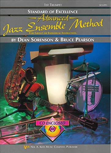 9780849725555: W35TP1 - Standard of Excellence Advanced Jazz Ensemble Method: 1st Trumpet