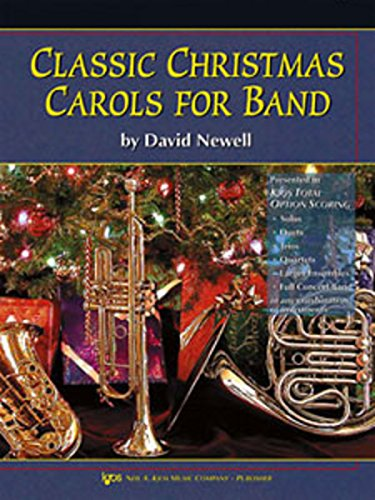 9780849725777: W36CL - Classic Christmas Carols for Band - Clarinet/Bass Clarinet
