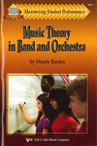 9780849726125: Music Theory in Band and Orchestra (Maximizing Student Performance)