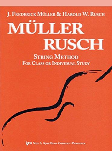 9780849730139: 53VN - Muller Rusch String Method - Book 3 - Violin