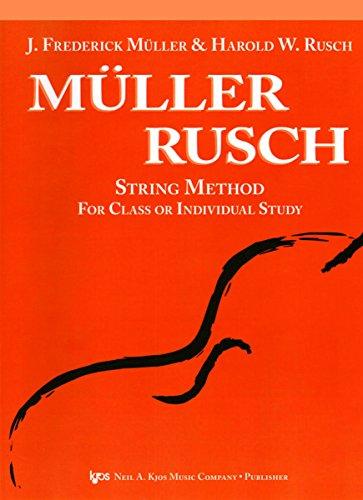Viola Muller Rusch String Method, Book 3: J. Frederick Muller