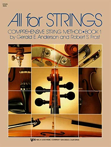 9780849732225: 78VN - All For Strings Book 1: Violin