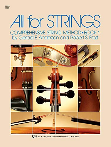 9780849732249: 78CO - All for Strings - Book 1 - Cello