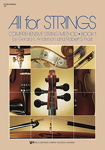 9780849732263: 78F - All for Strings Book 1 - Score and Manual
