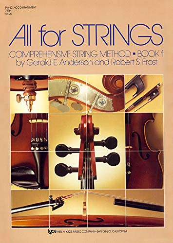 9780849732270: ANDERSON y FROST - All for Strings: Acompa�amiento de Piano Vol.1