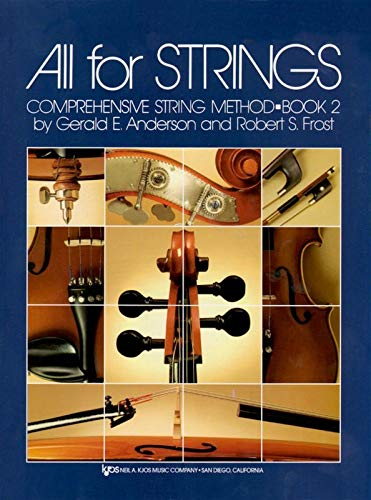 9780849732355: All For Strings Book 2: Violin