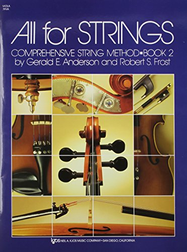 9780849732362: All For Strings - Book 2 (Viola)