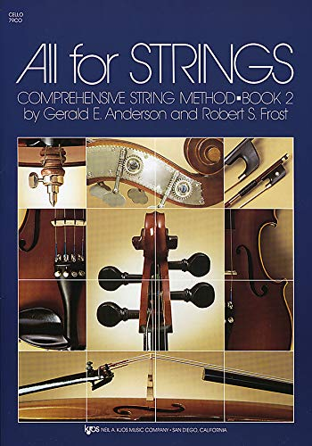 9780849732379: 79CO - All For Strings Book 2: Cello