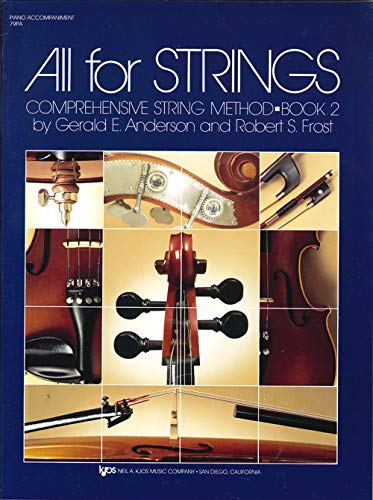 9780849732393: 79PA - All for Strings Book 2: Piano
