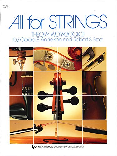 All for Strings Theory Workbook 2 Cello: Anderson Et Al.