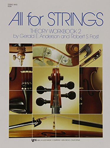 9780849732539: 85SB - All For Strings Theory Book 2: String Bass