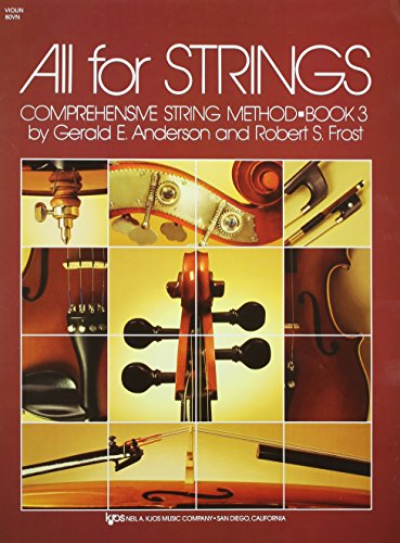 All For Strings Book 3 Violin: Robert Frost; Gerald