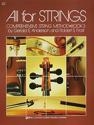 9780849733055: 80VA - All For Strings Book 3: Viola