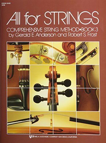 9780849733079: All For Strings Book 3 String Bass