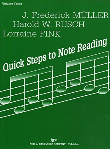 9780849733185: 71CO - Quick Steps to Note Reading - Volume Three - Cello
