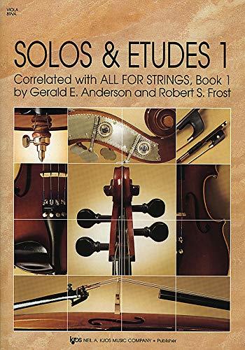 9780849733222: 89VA - Solos & Etudes 1 - Viola