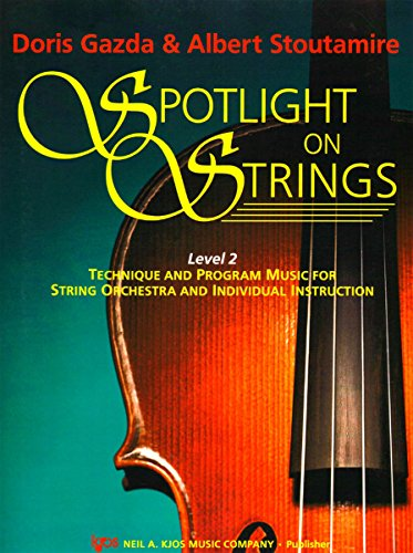 9780849733468: Spotlight On Strings (Violin 93VN) Level 2 : Technique and Program Music for String Orchestra and Individual Instruction