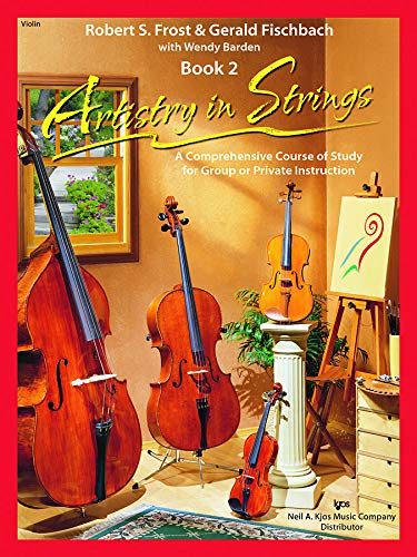 9780849734113: Artistry in Strings-Violin: Level 2