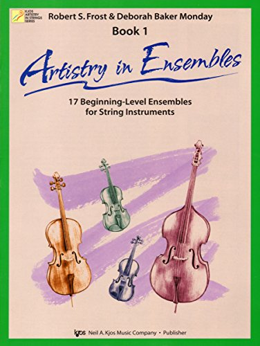 9780849734250: 106SB - Artistry in Ensembles Bk. 1 - Double Bass