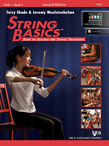 9780849734830: 115VN - String Basics: Steps to Success for String Orchestra Violin Book 1